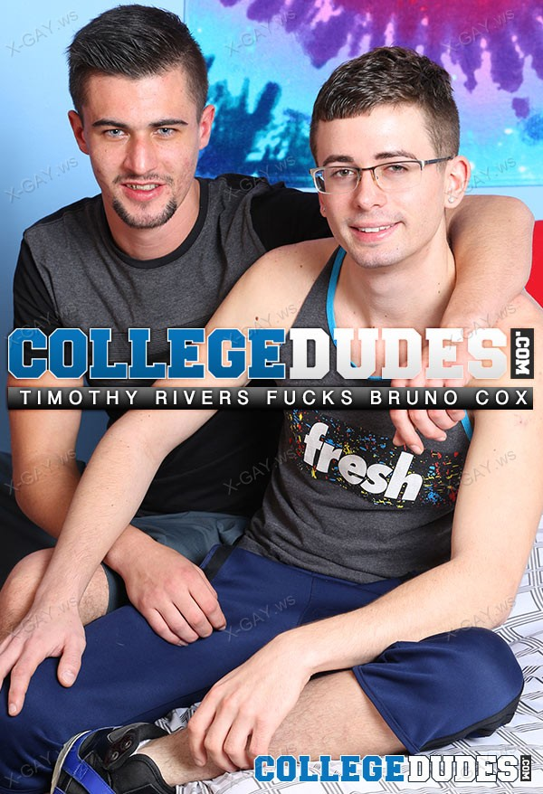 CollegeDudes: Bruno Cox And Timothy Rivers Fuck Hard