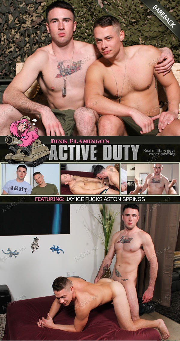 ActiveDuty: Aston Springs, Jay Ice (Bareback)