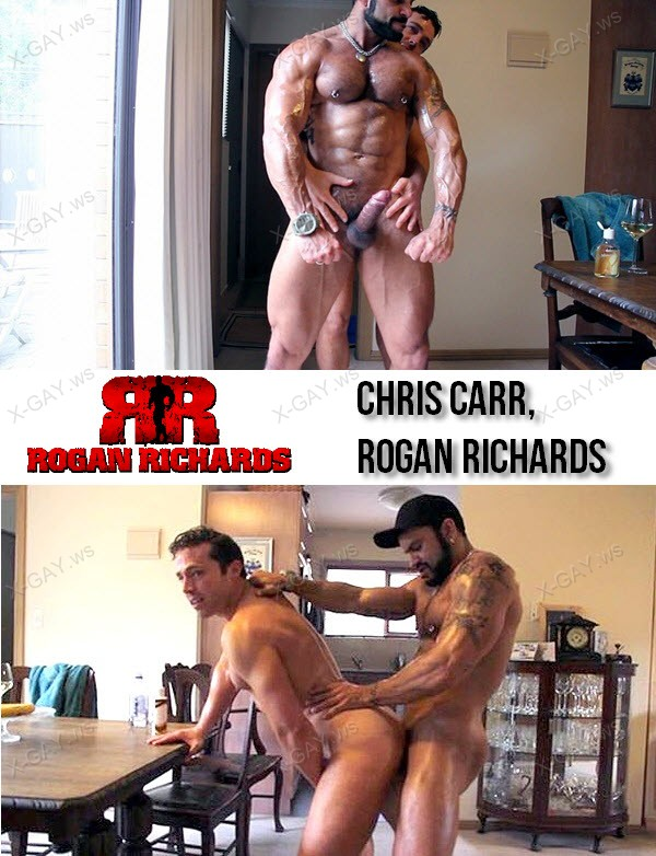 RoganRichards: Muscle Worship With Chris Carr (Chris Carr, Rogan Richards)