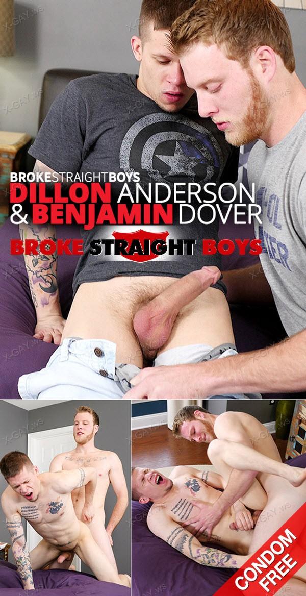 BrokeStraightBoys: Benjamin Dover, Dillon Anderson (Bareback)
