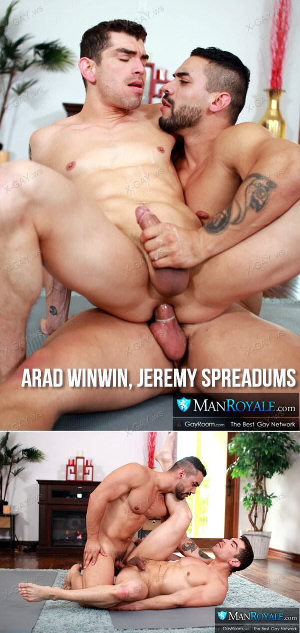 ManRoyale: Stretching Muscle Buddies (Arad Winwin, Jeremy Spreadums)
