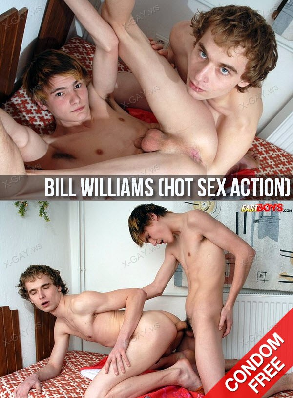 EastBoys: Bill Williams (Hot Sex Action) (Bareback)