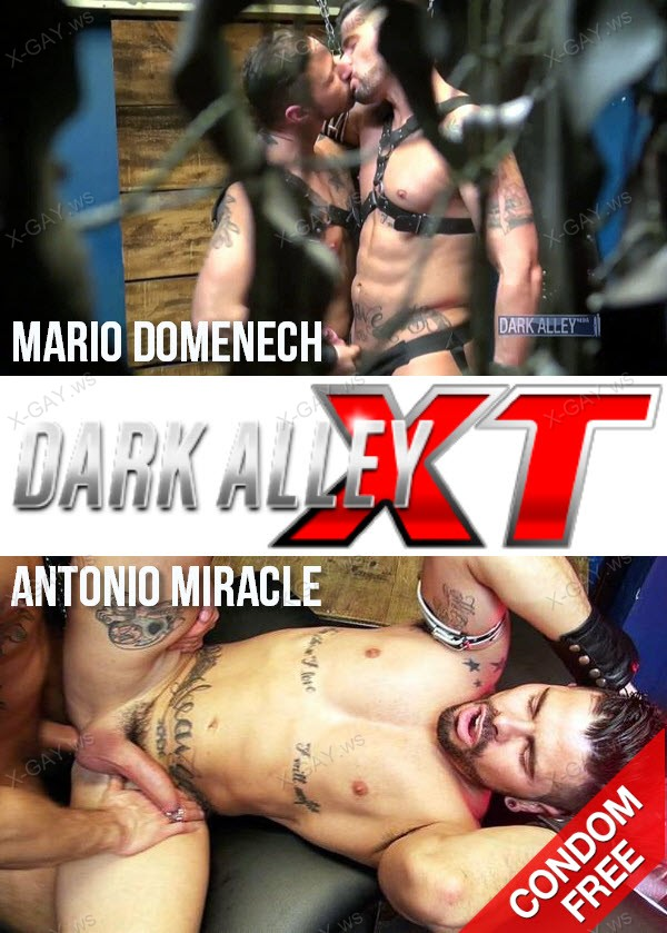 DarkAlleyXT: Raw Sleaze (Mario Domenech, Antonio Miracle) (Bareback)