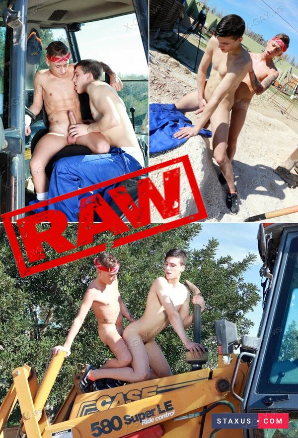 Staxus: Raw Builders (David Sky, Mike Cole) (Bareback)