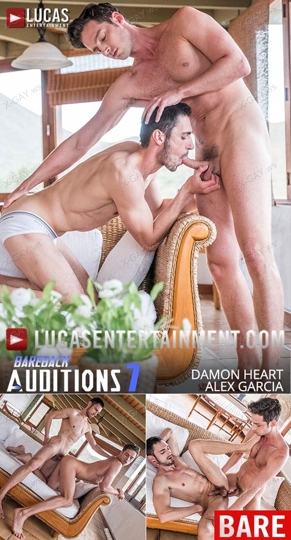 LucasEntertainment: Damon Heart and Alex Garcia Flip Fuck Bareback