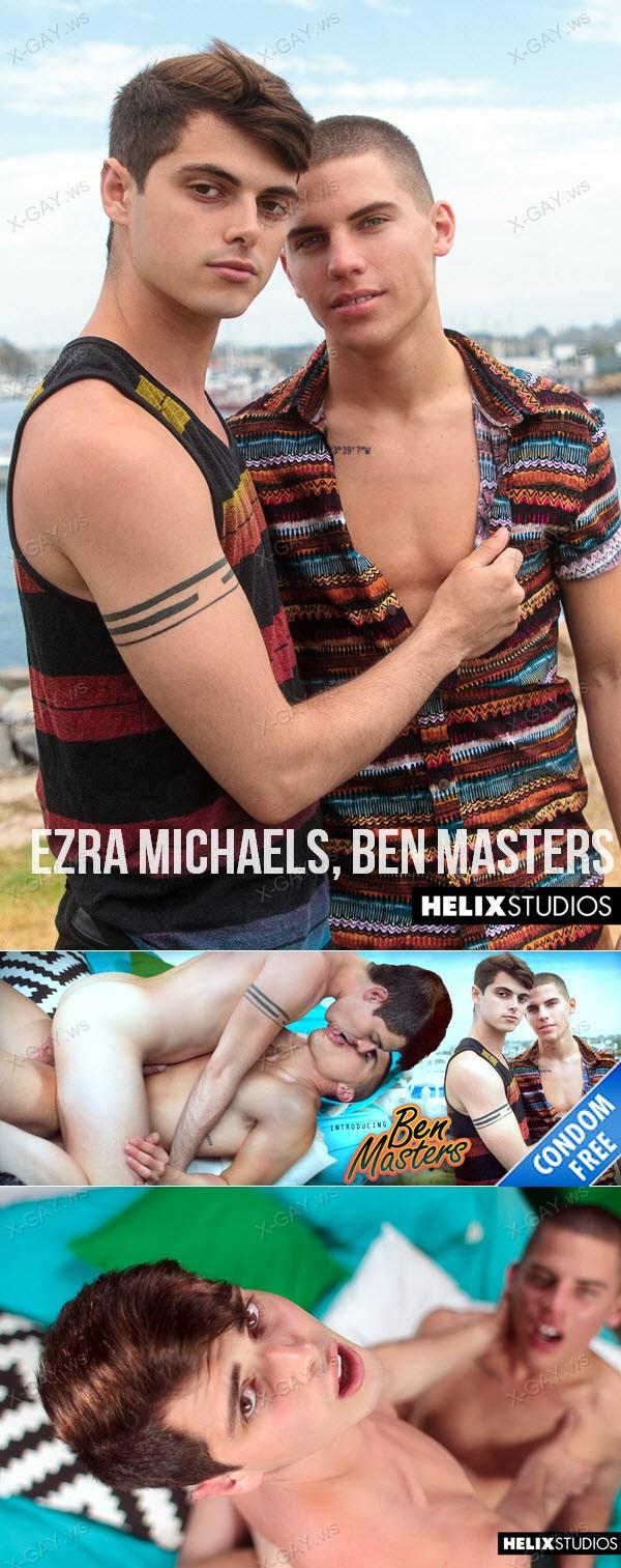 HelixStudios: Introducing Ben Masters (Ezra Michaels, Ben Masters) (Bareback)