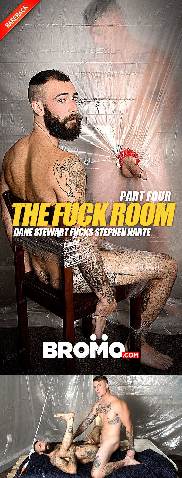 Bromo: The Fuck Room, Part #4 (Dane Stewart, Stephen Harte) (Bareback)