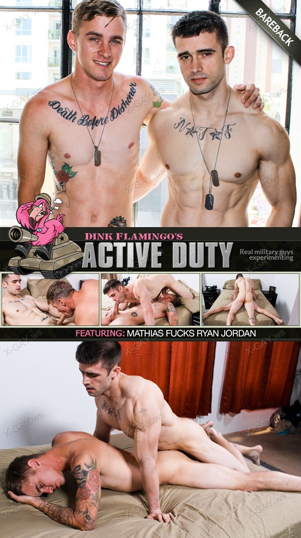 ActiveDuty: Mathias, Ryan Jordan (Bareback)