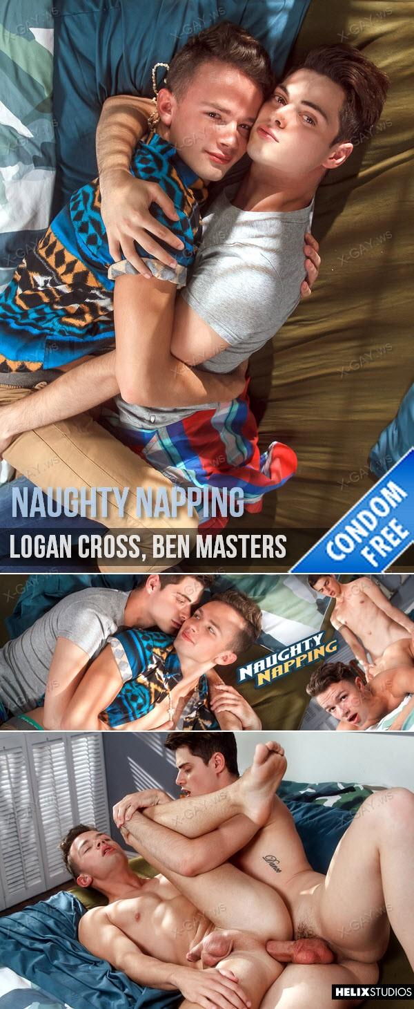 HelixStudios: Naughty Napping (Logan Cross, Ben Masters) (Bareback)