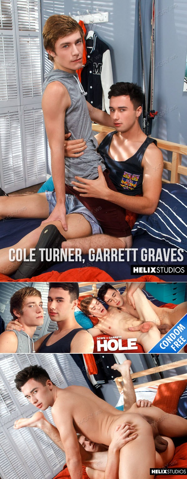 HelixStudios: Down The Garrett Hole (Cole Turner, Garrett Graves) (Bareback)