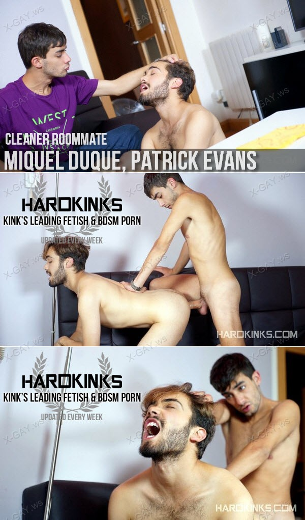 HardKinks: Cleaner Roommate (Miquel Duque, Patrick Evans)