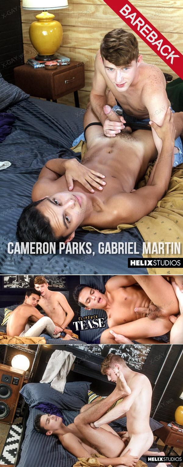 HelixStudios: Flipfuck Tease (Cameron Parks, Gabriel Martin) (Bareback)