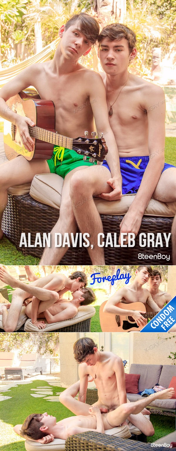 8TeenBoy: Alan Davis, Caleb Gray (Foreplay) (Bareback)