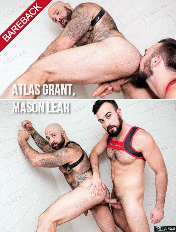 HairyAndRaw: Atlas Grant, Mason Lear (Bareback)