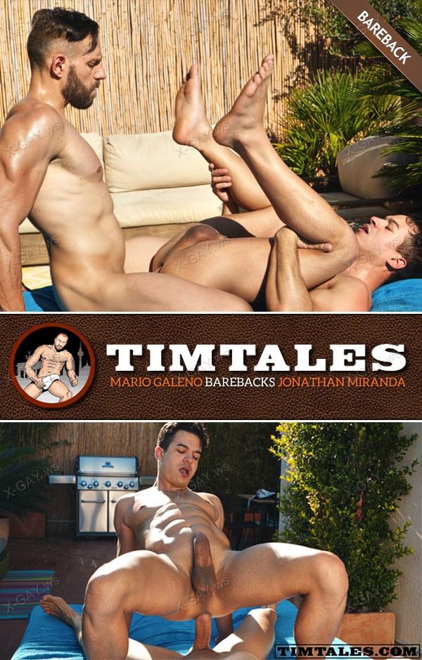 TimTales: Mario Galeno, Jonathan Miranda (Bareback)