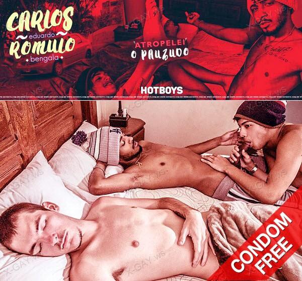 HotBoys: Carlos Eduardo, Romulo Bengala (Bareback)