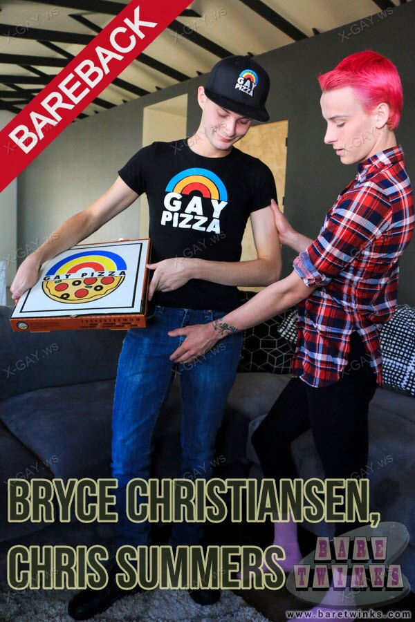 BareTwinks: Bryce Christiansen, Chris Summers (Fun With The Pizza Deivery Boy) (Bareback)