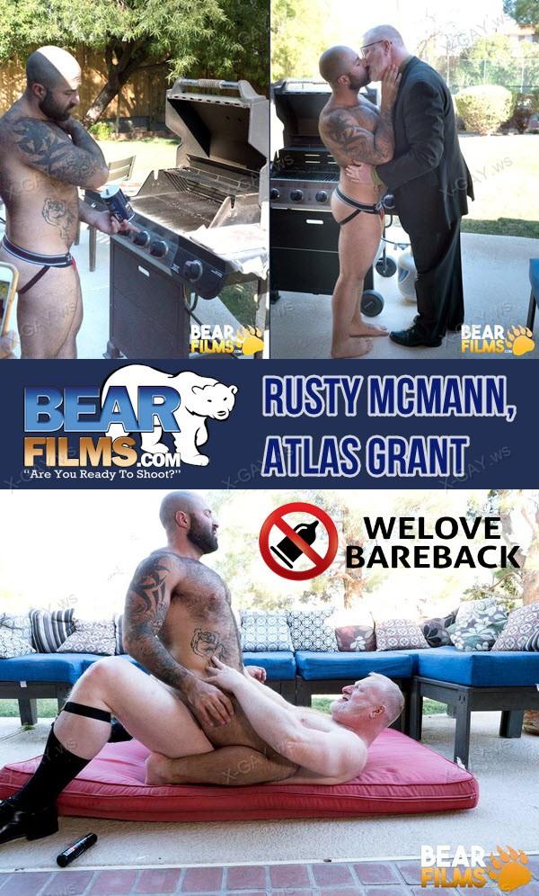 BearFilms: Rusty McMann, Atlas Grant (Bareback)