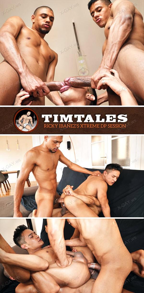 TimTales: Ricky Ibanez, Caio Veyron, Rodrigo: Ricky's Xtreme DP Session