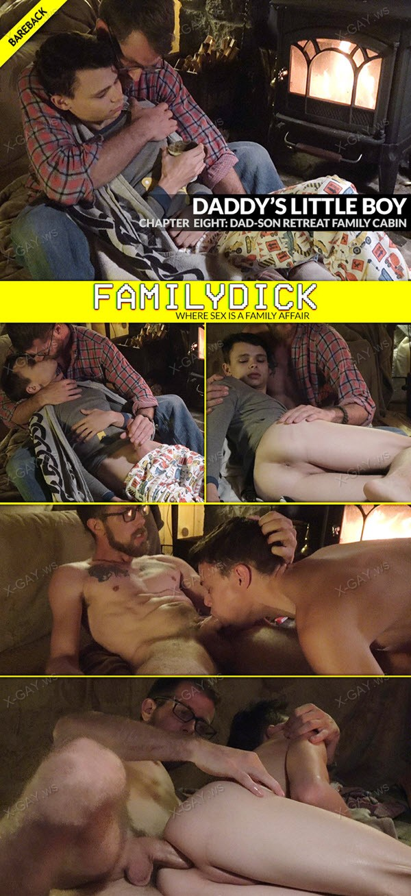 FamilyDick: Daddy's Little Boy, Chapter 8: Dad Son Retreat Family Cabin