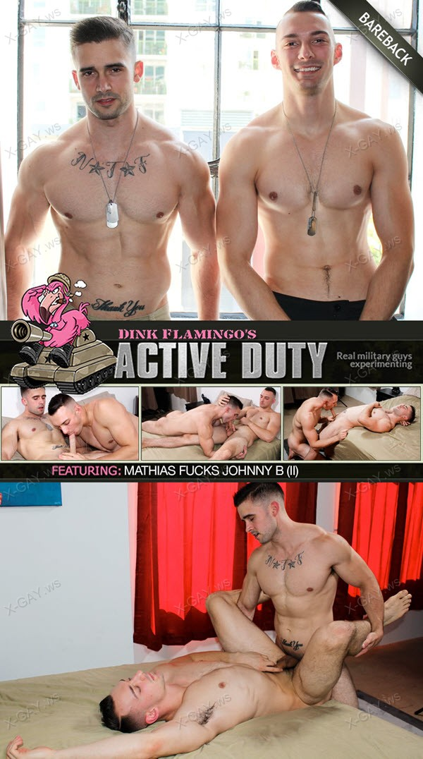ActiveDuty: Mathias, Johnny B (Bareback)