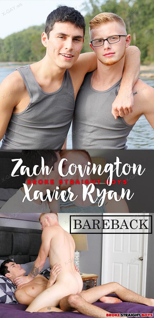 BrokeStraightBoys: Assertive And Dominant Xavier Ryan Fucking Zach Covington