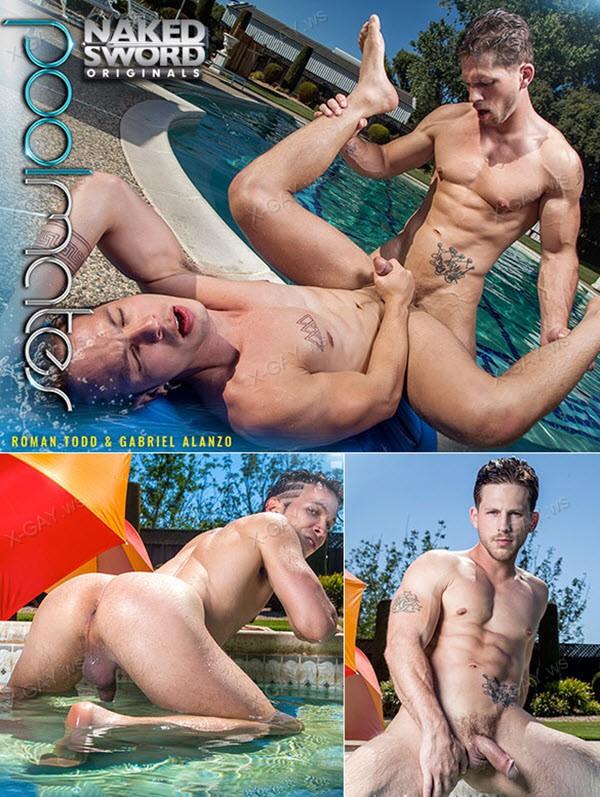 NakedSword: Roman Todd, Gabriel Alanzo: Pool Mates