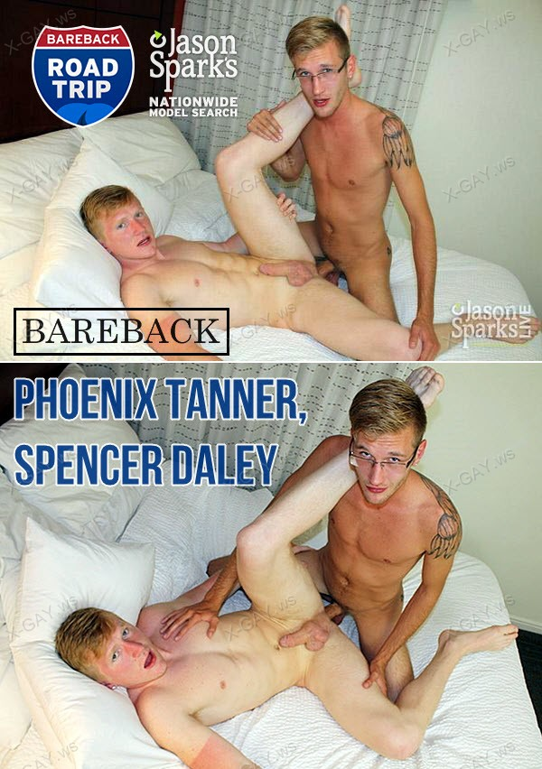 JasonSparksLive: Phoenix Tanner and Spencer Daley BAREBACK in Salt Lake