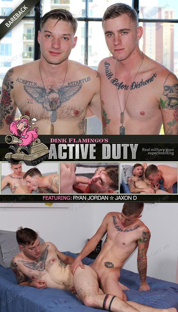 ActiveDuty: Ryan Jordan, Jaxon D (Bareback)