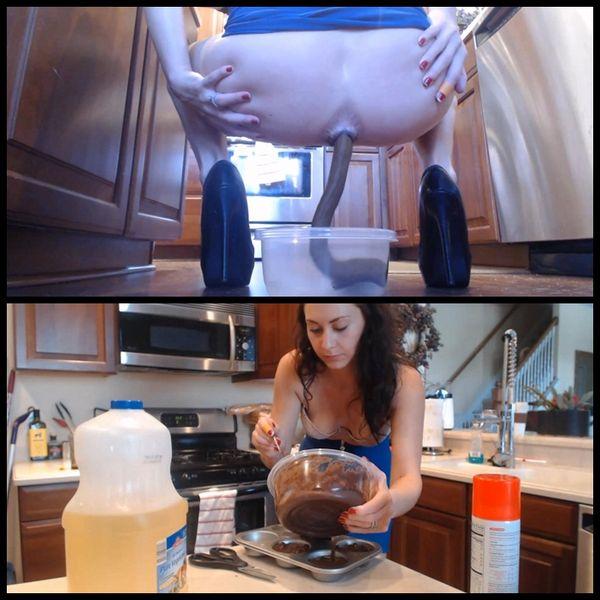 12 Inch Turd Brownie Baking