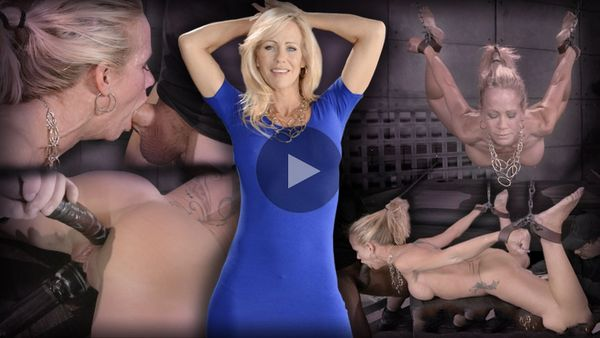 (15.07.2014) RTB – MILF Simone Sonay does epic deepthroat on BBC, is assfucked and vibrated, suspended in brutal hogtie