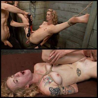 Fucked and bound - Caged Sex Slave Jeze Belle, Owen Gray