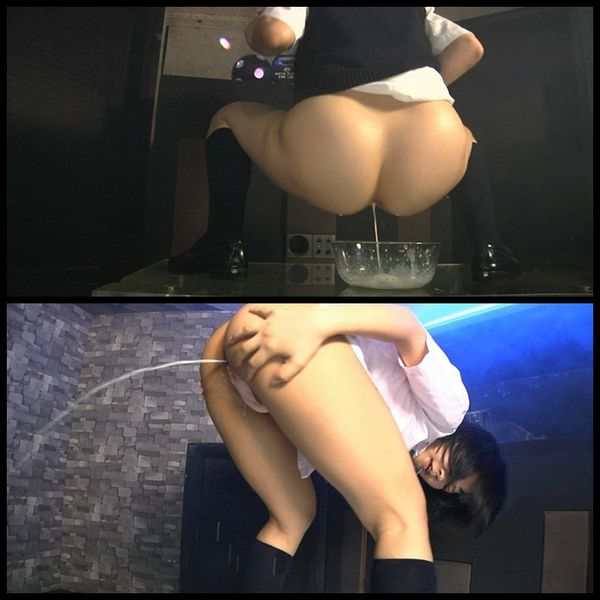 School Girl Enema Dance 1-2