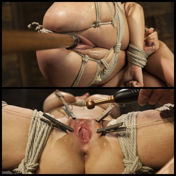(25.09.2014) Heavy Bondage for and All Natural Babe