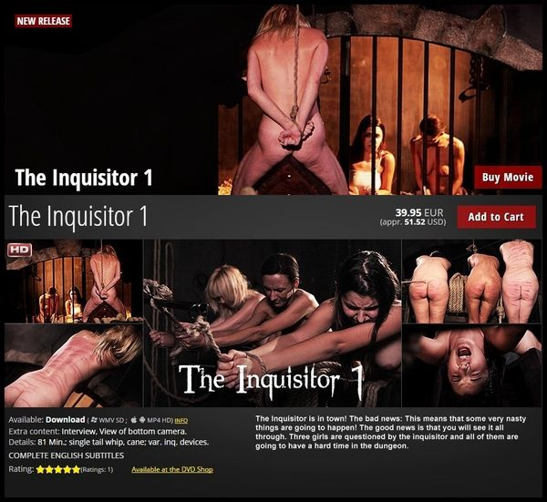 "EP ""New"" The Inquisitor 1 – BDSM, Spanking"