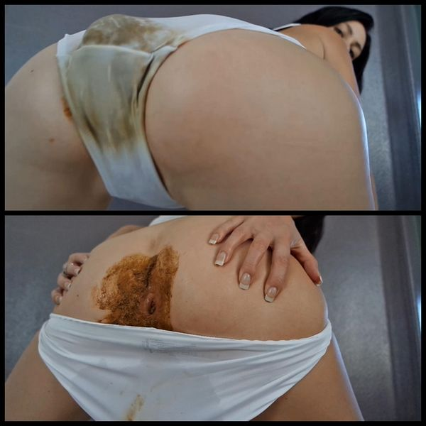 Bulge In My White Panties – Solo Scat, Poopping