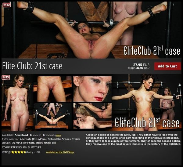 Elite Club 21th Case – BDSM, Spanking