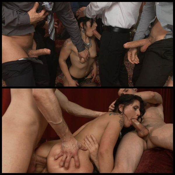 (28.01.2015) Fallon gets man-handled and fucked by the mob – Rape Fantasy