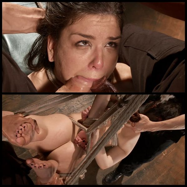(06.02.2015) DP'ed and throat fucked in tight bondage – BDSM, Male Domination