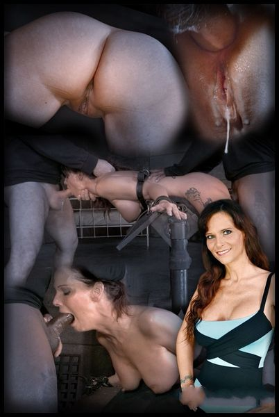 (10.02.2015) Hardbodied MILF Syren De Mer tightly tied and ANALLY pounded by BBC, epic messy deepthroat – BDSM, Kinky Porn