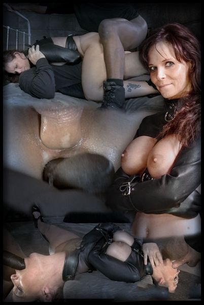(17.02.2015) Brutal MILF DP on BBC as Syren De Mer is straight jacket fucked to utter sexual destruction