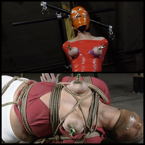 Dollys Tape Bondage Nightmare-Parti 2