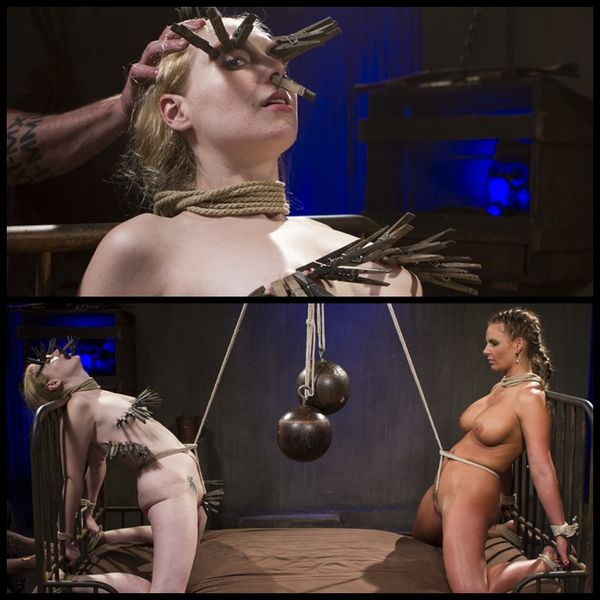 (04.03.2015) Phoenix Marie and Delirious Hunter Suffer for The Pope – BDSM, Bondage