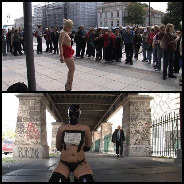 (06.03.2015) laughed at and fucked in public – BDSM, PublicDisgrace