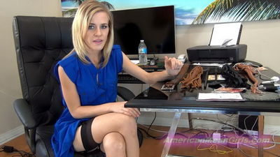 American Mean Girls - WHIPPED BY THE OFFICE GIRLS Boss Nikkole