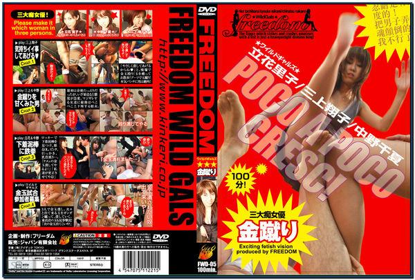 FWD-005 Wild Girls Hard Ballbusting JAV Femdom