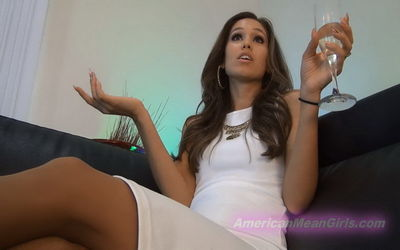 American Mean Girls - FLIPPING OFF FUCKTARDS - INTERACTIVE Goddess Rodea