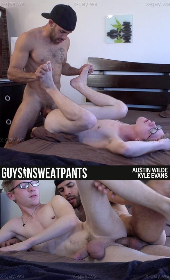 GuysInSweatPants – Austin Wilde & Kyle Evans, Bareback