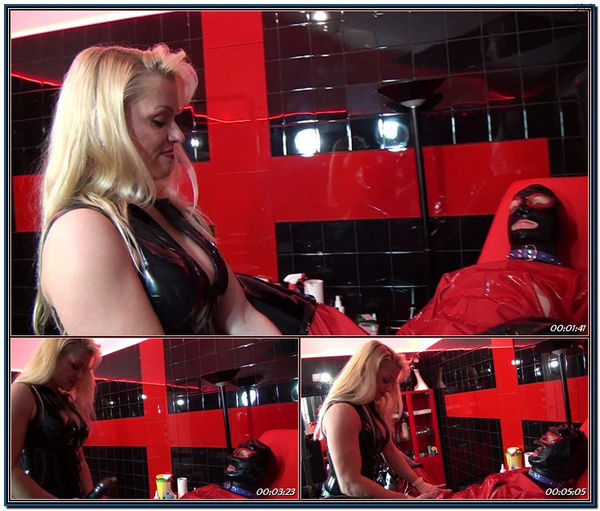 Helpless Slave Gets Anal Therapy 1 Femdom
