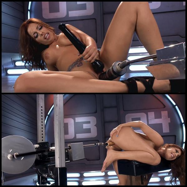 (29.04.2015) Fucking Machines First Timer, Britney Amber Show the Machines who Boss